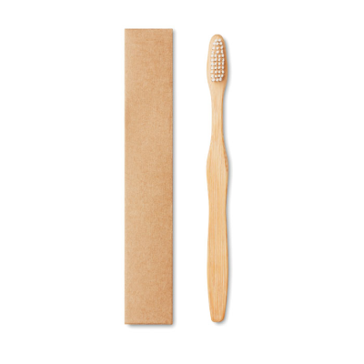 Picture of BAMBOO TOOTHBRUSH in Kraft Box
