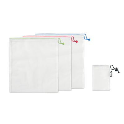 Picture of SET OF 3 RPET MESH FOOD BAGS