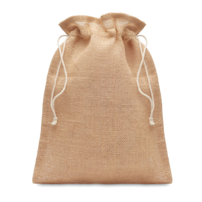 Picture of SMALL JUTE GIFT BAG 14 x 22 CM