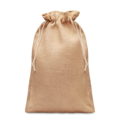 Picture of LARGE JUTE GIFT BAG 30 x 47CM