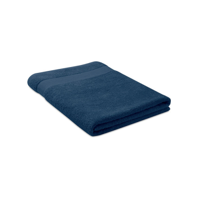 Picture of TOWEL ORGANIC COTTON 180X100CM in Blue