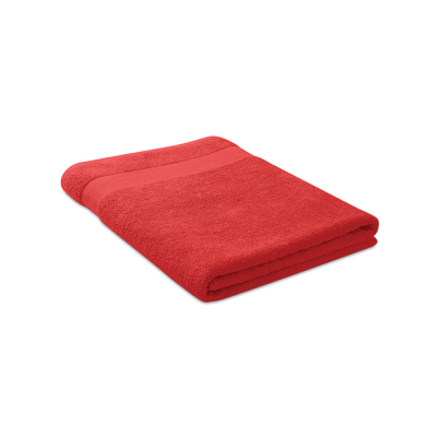 Picture of TOWEL ORGANIC COTTON 180X100CM in Red
