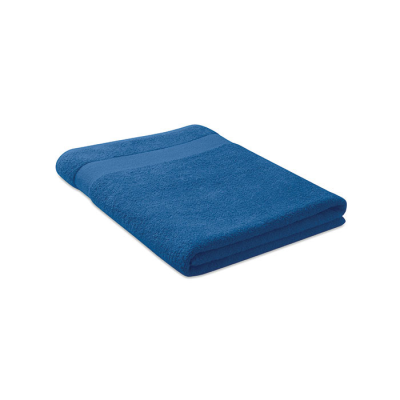 Picture of TOWEL ORGANIC COTTON 180X100CM in Royal Blue