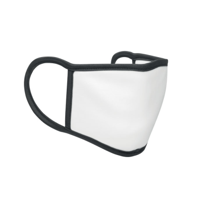 Picture of SUBLIMATION FACE COVER S-M in Black