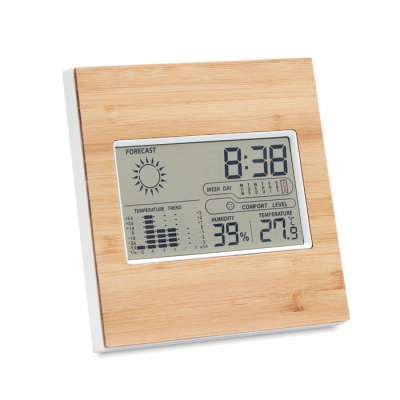 Picture of WEATHER STATION BAMBOO FRONT