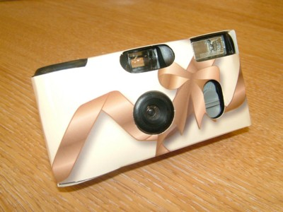 Picture of DISPOSABLE FLASH WEDDING CAMERA