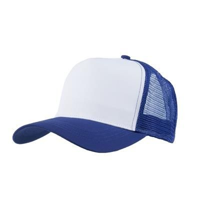 Picture of MESH BACK TRUCKER BASEBALL CAP in Royal
