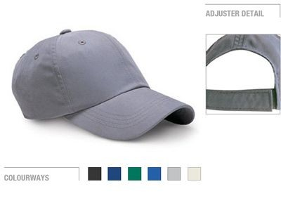 Picture of FULLY COVERED 6 PANEL LOW PROFILE BASEBALL CAP