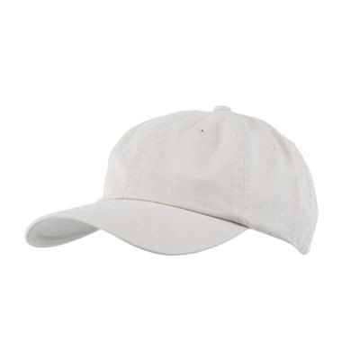 Picture of COTTON 6 PANEL BASEBALL CAP in Natural
