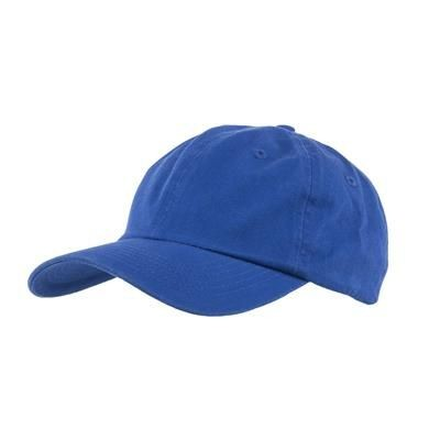 Picture of COTTON 6 PANEL BASEBALL CAP in Royal Blue