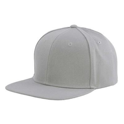 Picture of 100% ACRYLIC SNAPBACK BASEBALL CAP in Grey