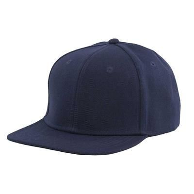 Picture of 100% ACRYLIC SNAPBACK BASEBALL CAP in Navy Blue