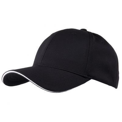 Picture of AIRTEX MESH SPORTS BASEBALL CAP in Black & White