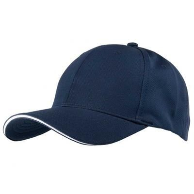 Picture of AIRTEX MESH SPORTS BASEBALL CAP in Navy & White