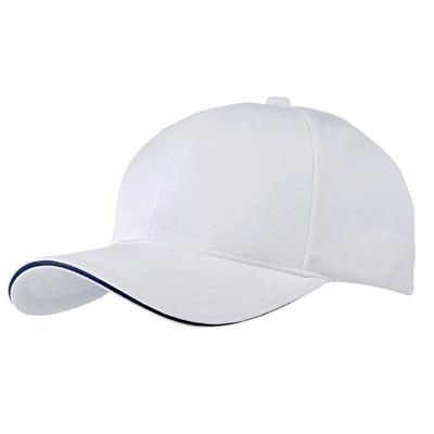 Picture of AIRTEX MESH SPORTS BASEBALL CAP in White-navy