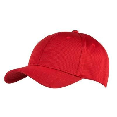 Picture of 6 PANEL BAMBOO-CHARCOAL CAP in Red