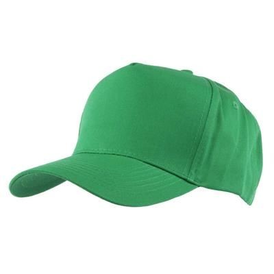 Picture of FULLY COVERED 5 PANEL BASEBALL CAP in Kelly Green