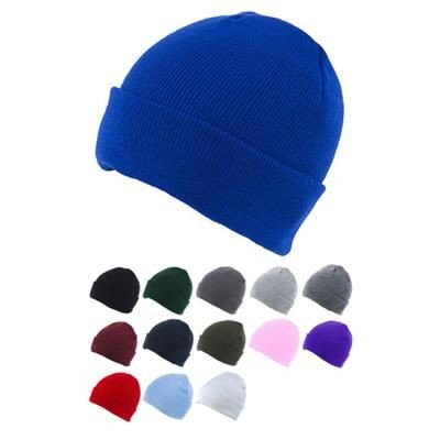 Picture of KNITTED SKI HAT with Turn Up