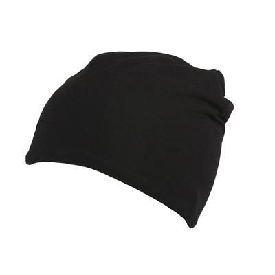 Picture of 100% COTTON BEANIE in Black