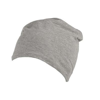 Picture of 100% COTTON BEANIE in Pale Grey