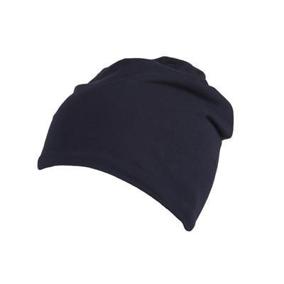 Picture of 100% COTTON BEANIE in Navy