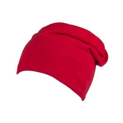 Picture of 100% COTTON BEANIE in Red