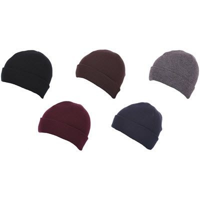 Picture of PREMIUM CIRCULAR KNIT 100% ACRYLIC BEANIE HAT