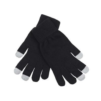 Picture of ACRYLIC LYCRA BLEND MAGIC GLOVES in Black & Grey