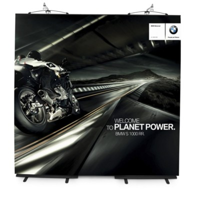 Picture of CURVE BANNER STAND