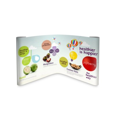 Picture of L SHAPE CORNER POP UP STAND