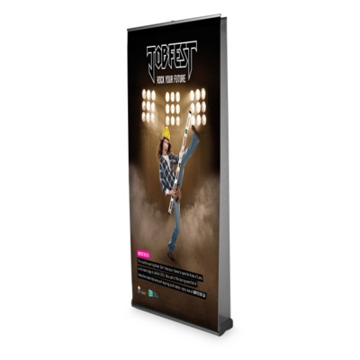 Picture of ORIENT 2 DOUBLE SIDED ROLLER BANNER