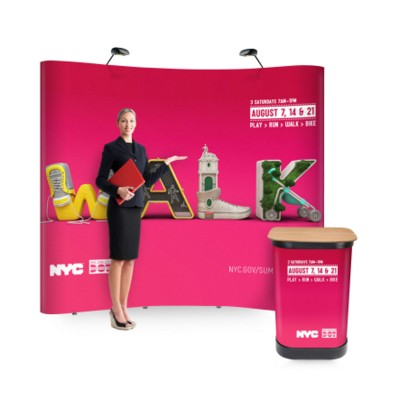 Picture of VISION POP UP DISPLAY STAND