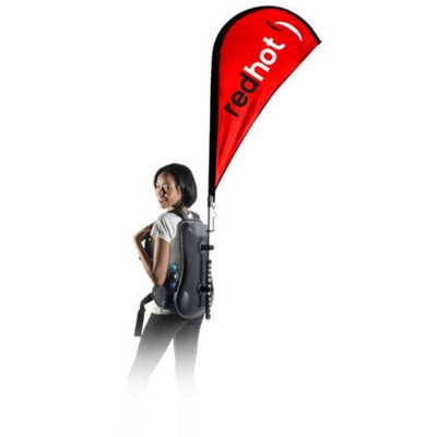 Picture of BACKPACK RUCKSACK SAIL TEAR DROP FLAG
