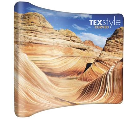 Picture of TEXTSTYLE CURVE FABRIC DISPLAY
