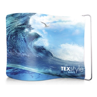 Picture of TEXSTYLE WAVE FABRIC DISPLAY