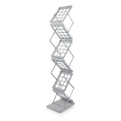 Picture of Z-UP A4 BROCHURE STAND in Silver