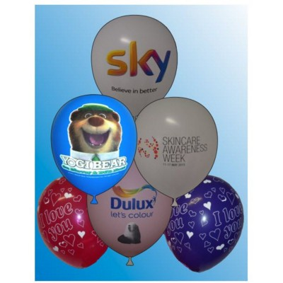 Picture of 12 INCH PRINTED LATEX BALLOON