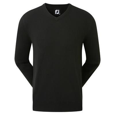 Picture of FJ FOOTOY GENTS GOLF V NECK LAMBSWOOL PULLOVER