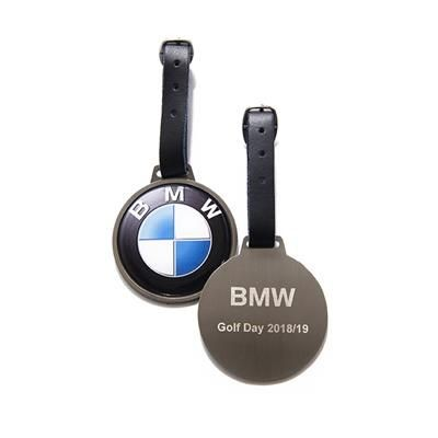 Picture of ROUND METAL GOLF BAG TAG