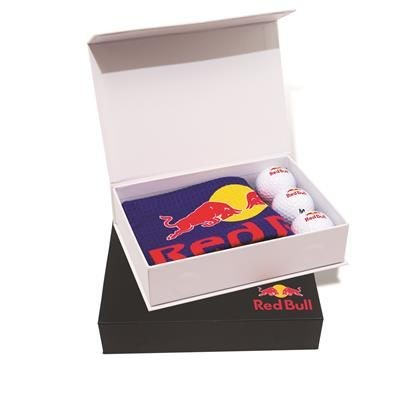 Picture of LUXURY GOLF TOWEL AND 3 BALL PRESENTATION BOX