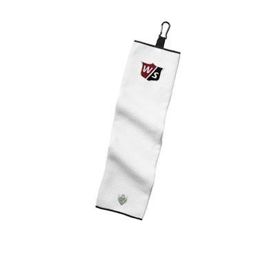 Picture of WILSON STAFF MICROFIBRE EMBROIDERED GOLF TOWEL