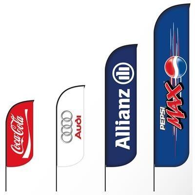 Picture of BAT FAN S ADVERTISING FLAG 65 X 200 CM