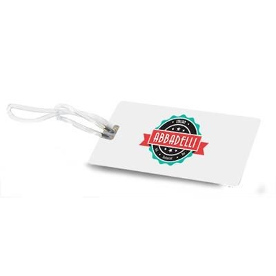 Picture of PVC LUGGAGE TAG with Clear Transparent Strap