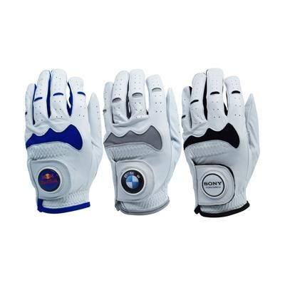 Picture of HYBRID CABRETTA LEATHER GOLF GLOVES
