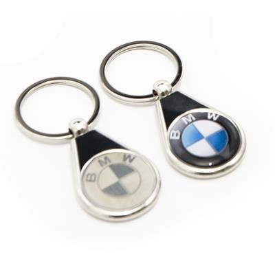 Picture of NEXUS 5 LUXURY FEEL KEYRING with Full Colour Resin Dome Logo