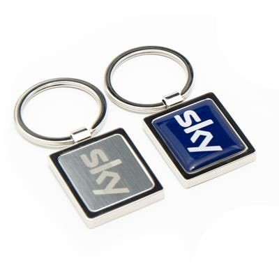Picture of NEXUS 7 LUXURY FEEL KEYRING with Full Colour Resin Dome Logo