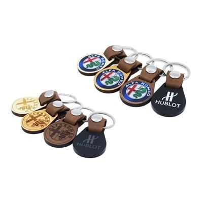 Picture of DELUXE ROUND SHAPE KEYRING