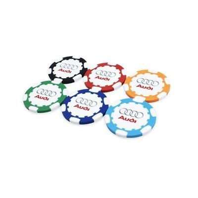 Picture of ABS GOLF POKERCHIP with Full Colour Print to Both Sides