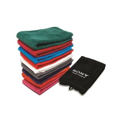 Picture of VELOUR TRI FOLDING EMBROIDERED GOLF TOWEL