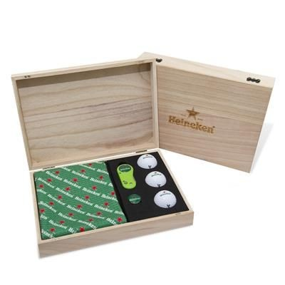 Picture of WOOD FLIX LITE GOLF PRESENTATION GIFT BOX